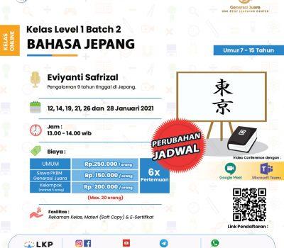 Flyer-Template-Kelas-Berbayar(Bahasa-Jepang)-Level-1-Batch-2